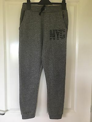 Rebel Boys Grey Tracksuit Bottoms Age 10-11 Years