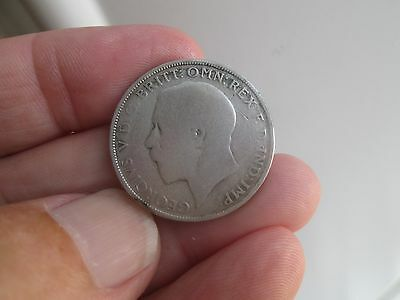 Collectable Solid Silver King George V Florin 1921