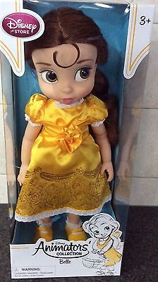 """DISNEY STORE ANIMATORS COLLECTION Belle 16"""" DOLL 2nd EDITION"""