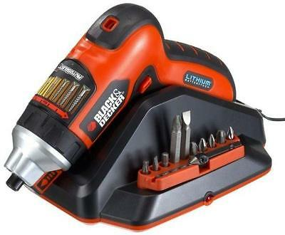 Black & Decker AS36LN 3.6V Reconditione Autoselect Screwdriver with Screwholder