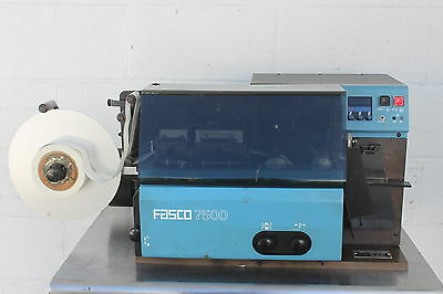 Packaging Systems Corp Fasco 7500 Hot Stamp Textile Label Printing Machine