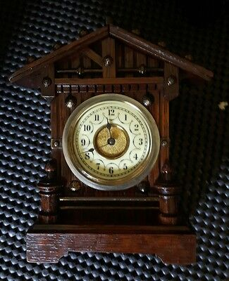 junghans miniture antique mantel clock
