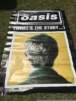 Oasis What's the Story very rare vintage quad poster
