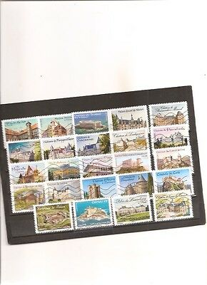 timbres france 24 timbres serie complete