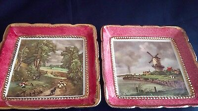 Sandland Ware - Lancaster & Sandland. Pair of Pin Dishes-John Constable Pictures
