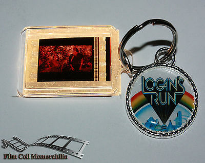 Logan's Run - 35mm Film Cell Movie KeyRing and Pendant Keyfob Gift