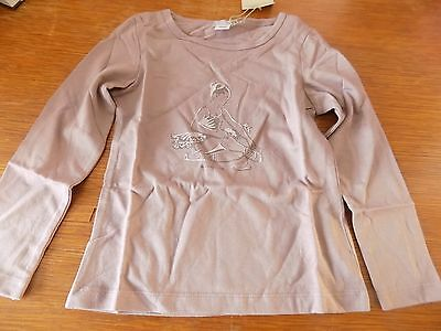 tee-shirt fille violet taille 5-6 ans