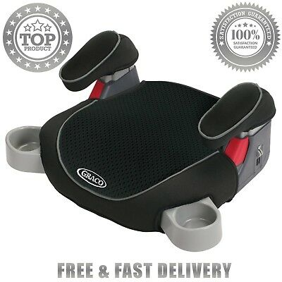 Kids Backless TurboBooster Booster Car Seat Toddler Dunwoody Safety Boys Graco
