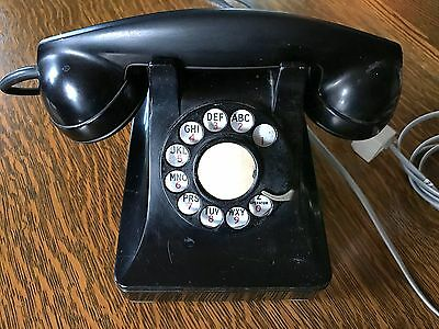 Antique Bell Telephone - circa 1930's-40's metal body