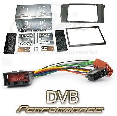 To Fit LR Discovery 3 2004-2009 Car Stereo Double Din Kit and ISO adaptor
