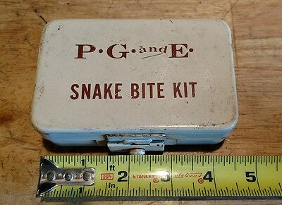 Vintage PG&E Norton Snake Bite Kit