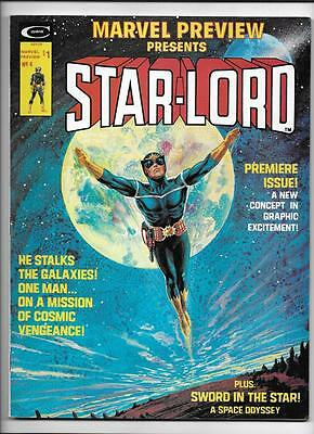 Marvel Preview #4 [1976 Fn+] 1St App Origin Starlord!