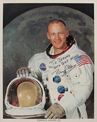 Apollo 11 – Buzz Aldrin VINTAGE Signed & Inscribed 8×10 Photo – COA RR AUCTIONS