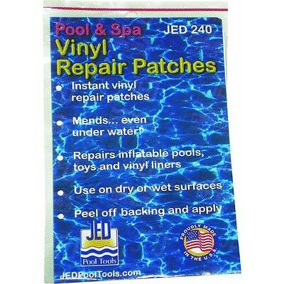 Vinyl Peel Patch Inflatable Underwater Kit Wet Dry Repair Surface Pool Toy
