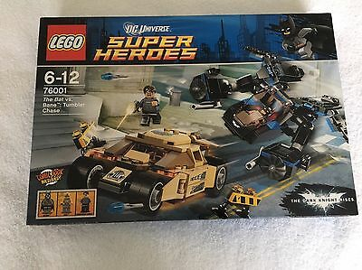Lego Batman 76001. The Bat Vs Bane. Tumbler Chase New Sealed. Private Collection
