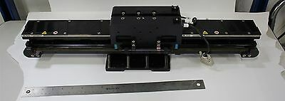 Anorad Linear Motor W/ Magnetic Track, Rails & Bearing Blocks 49795 Lck Renishaw
