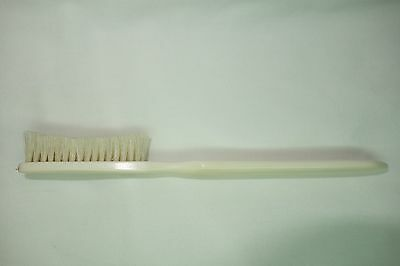 Antique Collectible Bone Toothbrush With Boars Hair Bristles