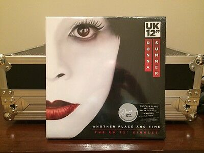 """Donna Summer Another Place and Time UK 12"""" White Vinyl Singles RSD PWL SAW Int"""