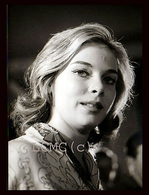 "Fotografia Photo Vintage 1969 Gabriella Pallotta In ""nero Wolfe"" Cinema Film Tv"
