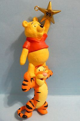 """1995 Hallmark """"WINNIE THE POOH AND TIGGER"""" Winnie the Pooh Collection"""