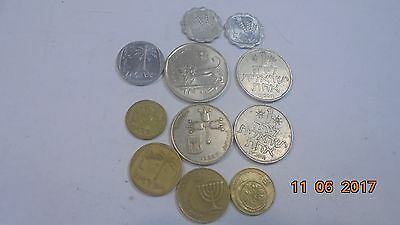 Israel coins as photo