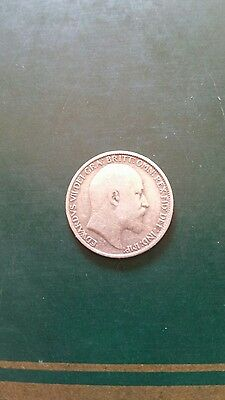 Collectable 1906 King Edward VII Silver Sixpence
