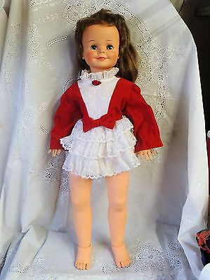 "Vintage 1961 30"" Terry Twist Doll"