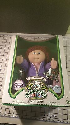 ULTRA-RARE! 25th Anniversary Cabbage Patch Kids Limited Edition Doll