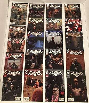 Lot Of 123 Punisher Max V1 #1-75 + V2 #1-22 Complete Sets (-1) + Minis /1 Shots