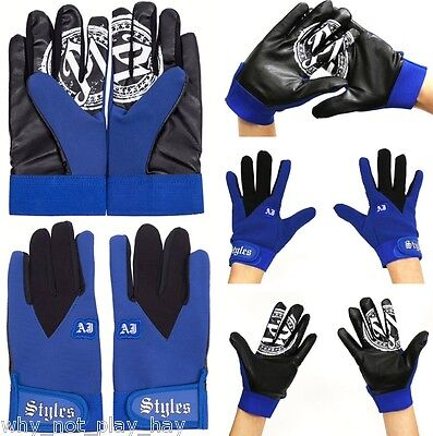 Wwe Tna official replica aj styles replica gloves adult kids cosplay wrestling