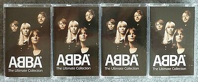 ABBA - Ultimate Collection - 4 MC / 4 cassettes - TOP