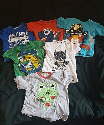 Boys Tops Shorts Bundle Age 2-3 Years 🕶🌴 Summer Nursery Clothes
