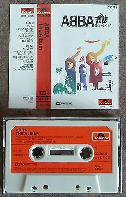 ABBA – The Album - MC Cassette - Polydor Club Edition - Germany - 1977