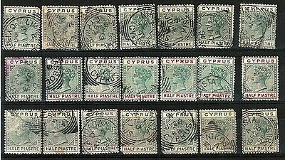 Old Cyprus  Stamps Collection Including High Values