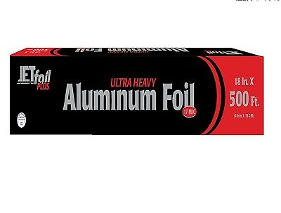 "Party Bargains ULTRA Heavy Duty Food Service Aluminum Foil 500ft - 18"" X 500'"