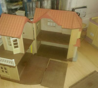 sylvanian families bundle houses figures and lots of accessories