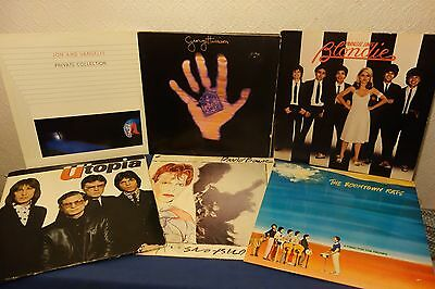 25 Albums LP Collection From 70s 80s 90s Vinyl Job Lot (Rock, Indie, New Wave)