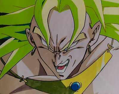 Dragon Ball Anime Cel Production Animation Douga DBZ Cellulo BROLY SSJ