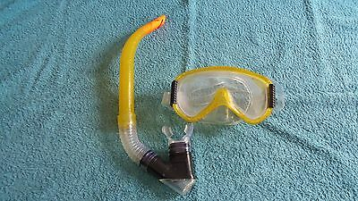 Adult Snorkel And Goggles