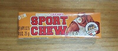 Haitai Sport Chew Chewing Gum Orange Color Made in Korea