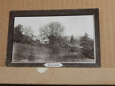 Postcard Auchendolly Kirkcudbrightshire Scotland posted 1910 Real photo. .XC3