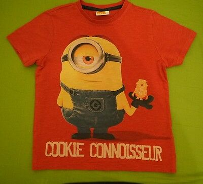 Despicable Me2 t-shirt, size 6-7 years