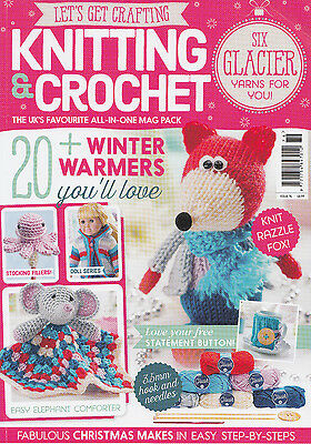 Let's Get Crafting Magazine - Knitting & Crochet - Issue 76