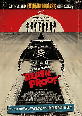 Death Proof (2007) V2 - A2 POSTER **BUY ANY 2 AND GET 1 FREE OFFER**