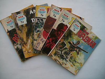 war picture library 6 issues 1974
