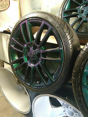 5x120 19' alloy wheels for Range Rover, VW T5 transporter, with tyres