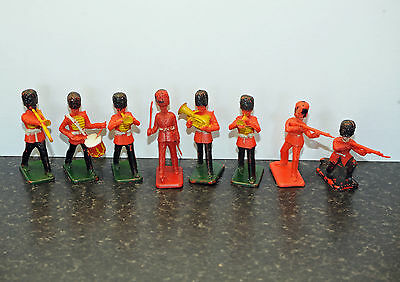 Crescent and Kelloggs Guardsmen toy soldiers x 8