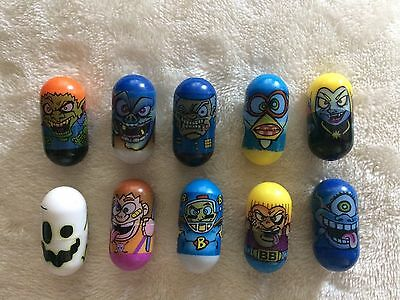 28 x Magic Jumping Beans Mighty Beanz JA-RU Crazee Beans Crazy Rare