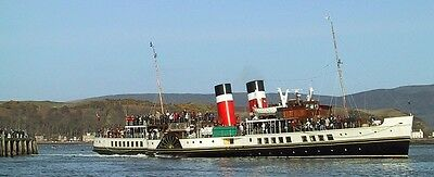 2 X Ticket Vouchers For The Waverley Paddle Steamer's Scottish Sailings 2017