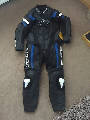 Spada Curve Evo One Piece Leathers. Size 46